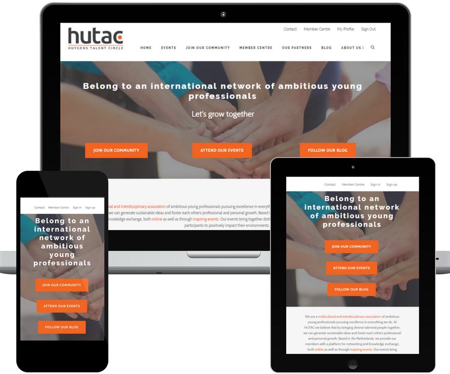 HUTAC website