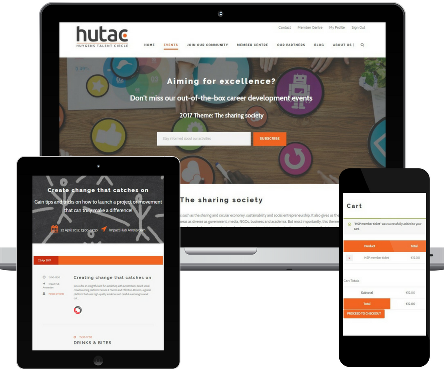 HUTAC events system
