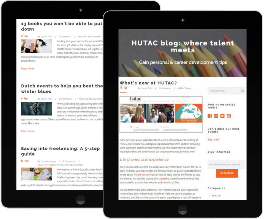 HUTAC blog